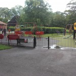 A safe place to play is always on the park swings and roundabouts
