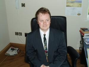 Tony Flounders, hynotherapist